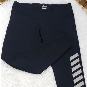Old Navy Active Legging with Silver Stripes